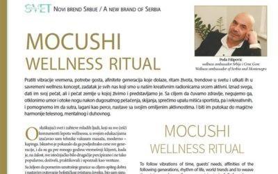 MOCUSHI WELLNESS RITUAL Peđe Filipovića u časopisu TURISTIČKI SVET