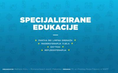 MAKARSKA- HRVATSKA, JANUAR 2019. SPECIJALIZOVANE EDUKACIJE WAPF