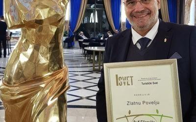 Pedja Filipović dobitnik ZLATNE POVELJE za 30 godina pregalačkog rada