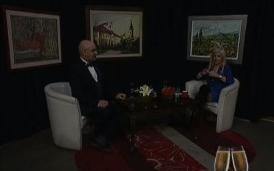"""Gostovanje Pedje Filipovića  u jednočasovnoj TV emisiji """" ŠAMPANJAC SA JASMINOM ANOM"""" –  K::CN TV"""