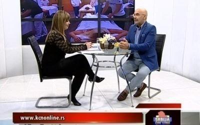 Gostovanje Pedje Filipovića u emisiji SRBIJA ONLINE na TV Kopernikus