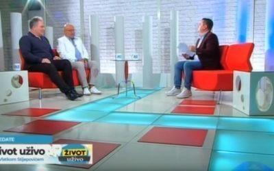 Emisija Život uživo sa Vlatkom Stjepović na A1 TV Montenegro